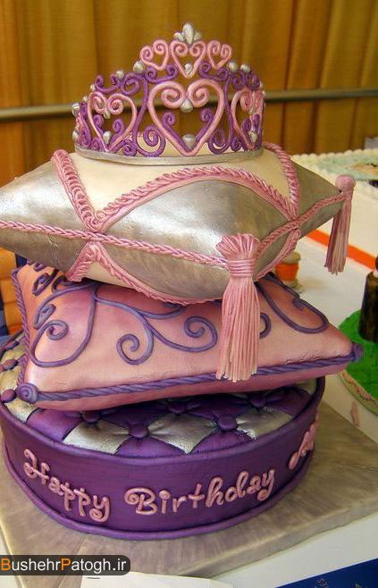 عاشقانه - عکس کیک تولد (نفسم تولدت مبارک)